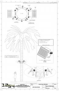 1254 Solar Dual Tree Band
