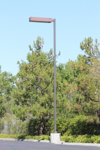 SNTR - Steel Non Tapered Round Pole